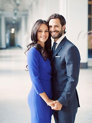 GIFT: Ekteparet giftet seg den 13. juni 2015 i den svenske kirken Slottskyrkan. Foto: NTB Scanpix