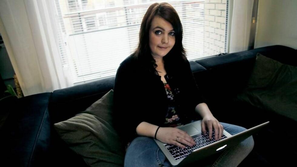 - FOR AKTIV PÅ BLOGGEN: Nav mener Gudrun Jona Gudmundsdottir (23) blogger for mye til å være syk. Foto: Jacques Hvistendahl