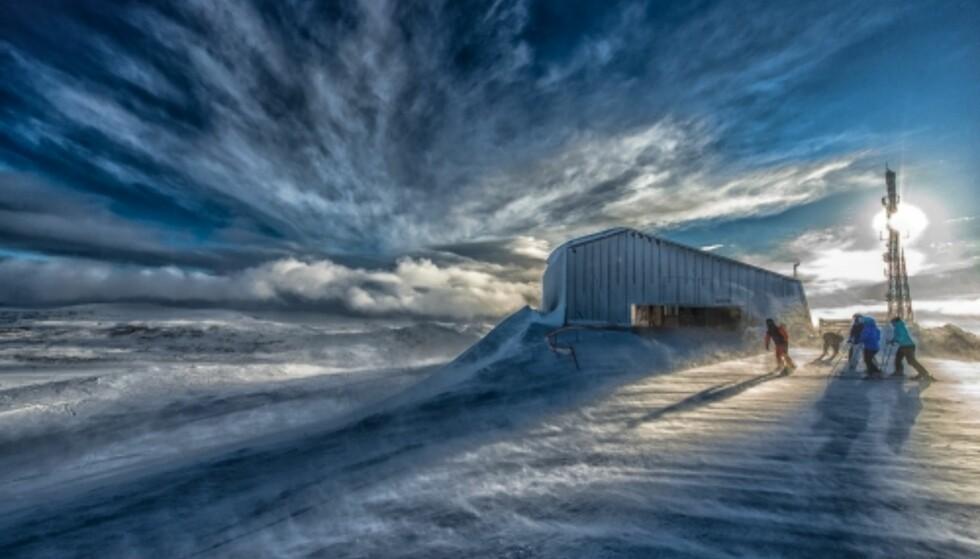 TOPPEN AV BAKKEN: Du vil oppleve stemningsfulle omgivelser på Hovden. FOTO: Destinasjon Hovden