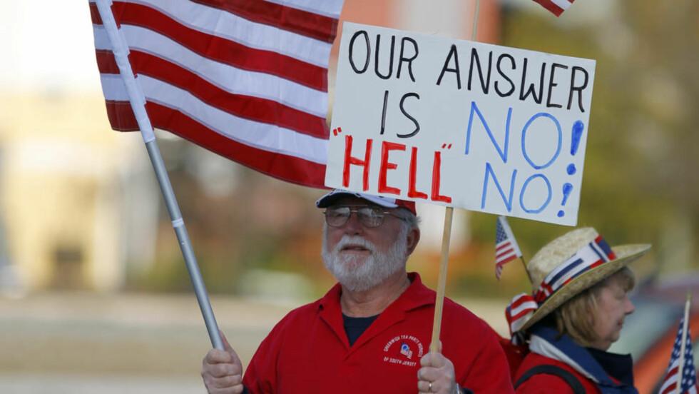 Valgkampen i USA er over, og den har i stor grad vært preget av personangrep og aggressive reklamer. Foto: REUTERS / SCANPIX