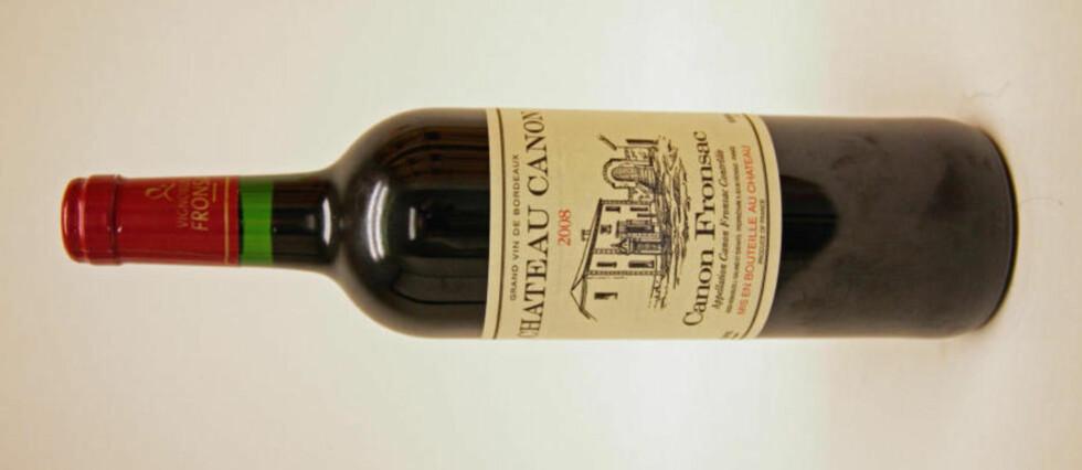 TOPPVIN: Denne franske vinen får toppkarakter av Dagbladets vineksperter Ken Engebretsen og Tom Grønvold. Se vintesten nedenfor.