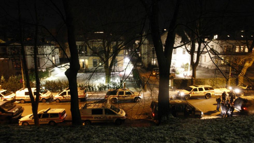 ISRAELSK OVERVÅKNING I SVERIGE: Den svenske avisa Aftonbladet skriver at den israelske ambassaden i landet drevet med overvåkning. NUPI-rådgiver sier til Dagbladet at det ikke er utenkelig at den israelske ambassaden i Norge (bildet) også har gjort det samme. Foto: SCANPIX