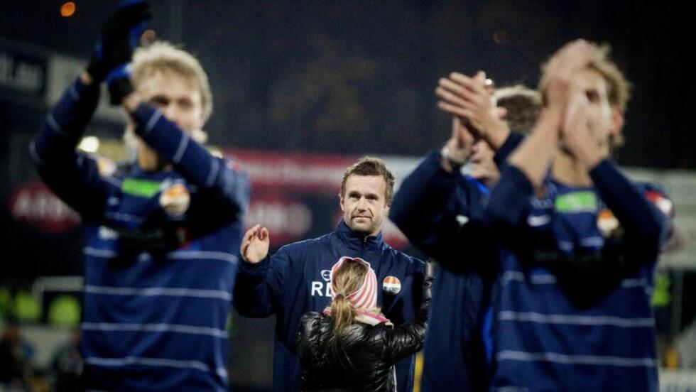 KLAR FOR EUROPA - UANSETT: Ronny Deila kommer til å lede Strømsgodset i Europa League uavhengig av utfallet i cupfinalen mot Follo.Foto: Kyrre Lien / Scanpix