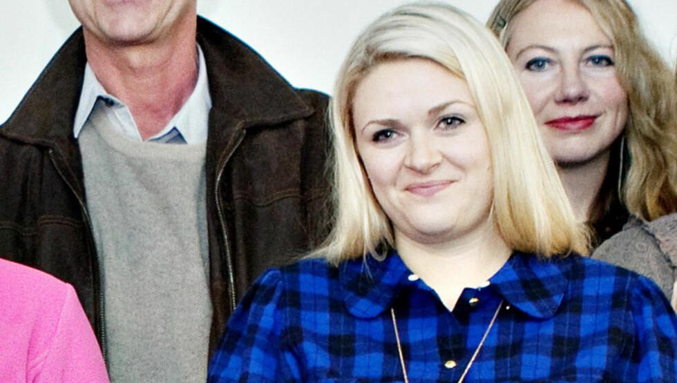 ANBEFALELSESVERDIG: Nina Elisabeth Grøntvedt har skrevet en imponerende gjennomført bok om tolvåringen Oda. Her fra presentasjonen av årets brageprisnominerte forfattere. Foto: NINA HANSEN