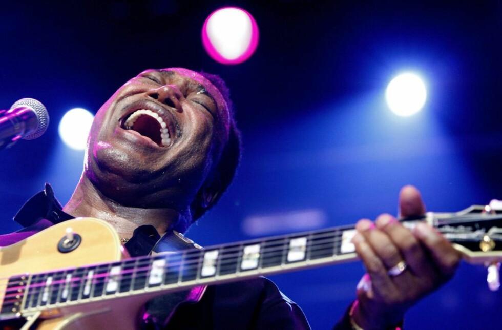 CTI-STJERNE:  George Benson var en av CTIs største stjerner på 70-tallet, og er fortsatt et stort navn. Her på Montreux Jazz Festival i fjor. FOTO: SCANPIX/JEAN-CHRISTOPHE BOTT