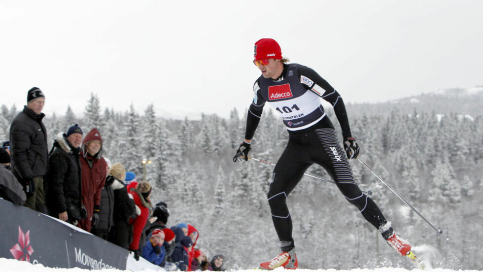 LANGT ETTER:  Foreløpig betyr hverken plassering eller tidsavstand noen ting for Petter Northug. Han fikser bedre russisk motstand uansett. FOTO: Håkon Mosvold Larsen / Scanpix