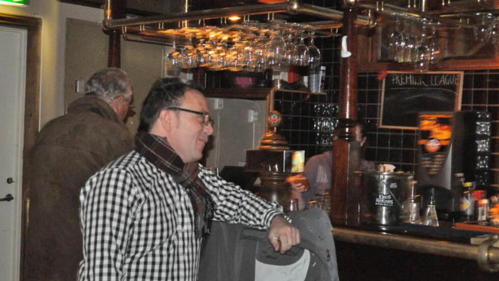 HYSJ! Selv en samtale med ordinært volum er i drøyeste laget for Stavern kommune. Foto: Tordenskiold Pub