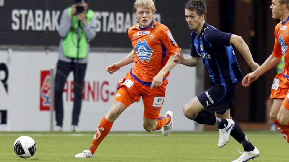 KALT INN: Jonathan Parr erstatter Espen Ruud til landskampen mot Irland onsdag. Foto: Håkon Mosvold Larsen / Scanpix