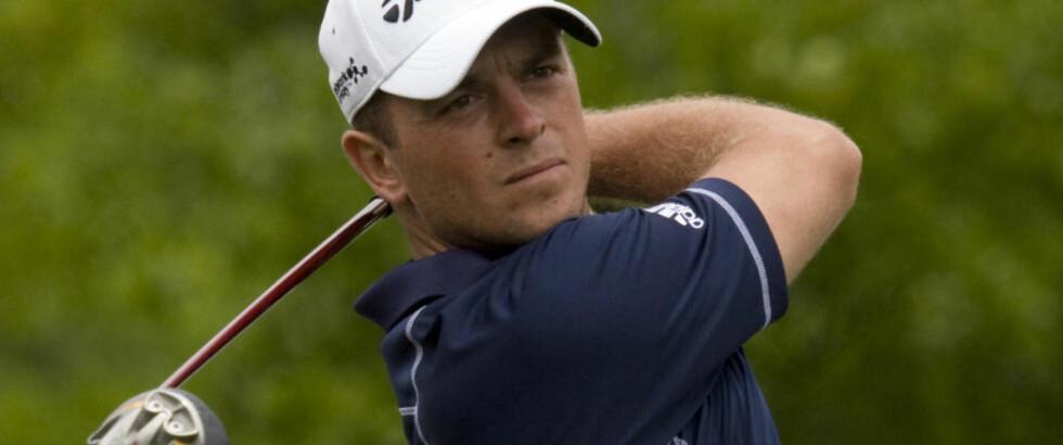 LEGGER OPP: Henrik Bjørnstad har bestemt seg for å legge opp som golfspiller. Nå flytter 31-åringen hjem til Norge. Foto: Scanpix/Reuters