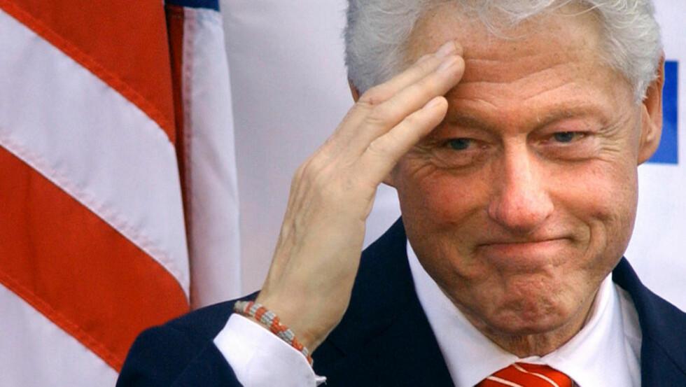 SPILLER SEG SELV? Bill Clinton kan dukke opp i «The Hangover 2». Foto: AP Photo/Jon C. Hancock/Scanpix.