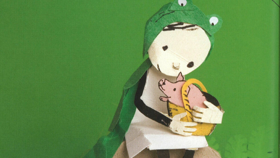 LEKKERT: «Eg er ein frosk» er en sjeldent kvalitetssterk og fantasieggende bok, full av irrasjonelle overraskelser. Bilde: FRA BOKA