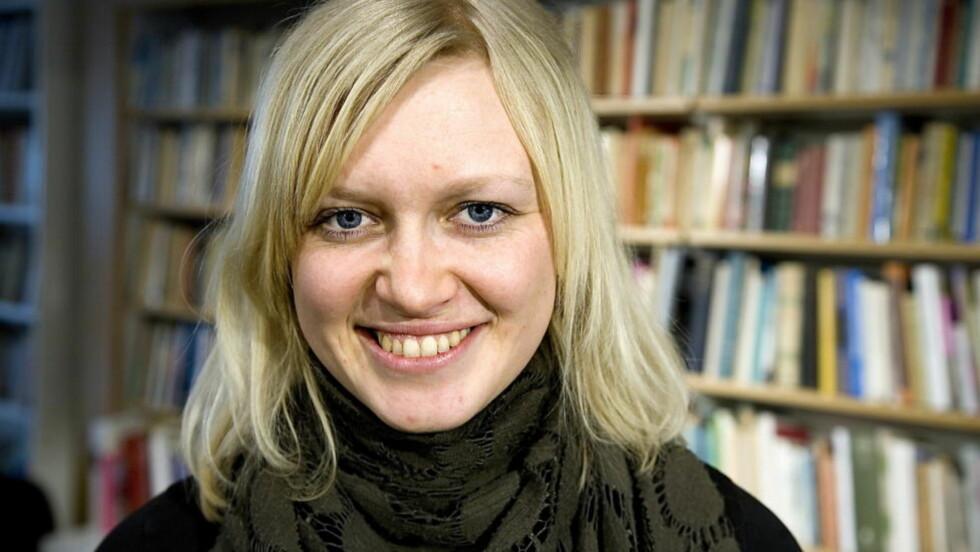 PRISES: Den norske barnebokforfatteren Maria Parr har hatt stor suksess med boka «Tonje Glimmerdal». Nå prises hun i Tyskland. Foto: Anders Grønneberg / Dagbladet