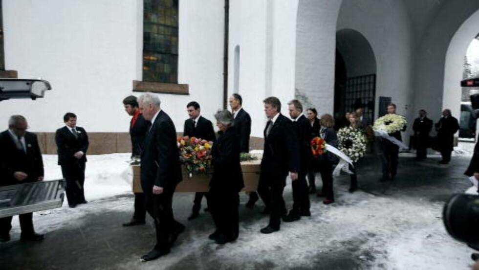 KRITISERT: Kirken kritiserte Gelius etter måten Arne Næss' begravelse ble løst på. FOTO: Henning Lillegård/DAGBLADET.