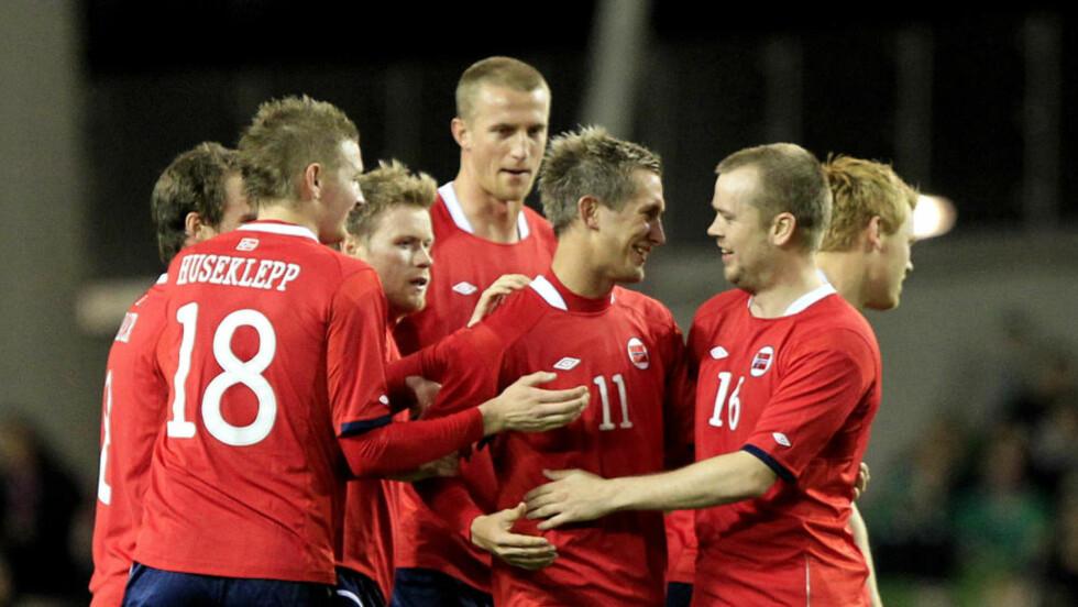 HAR FLYTEN: Norge har klatret til 12. plass på FIFA-rankingen og vinner enda oftere enn under storhetstida på 90-tallet. Foto:  (AP Photo/Peter Morrison)