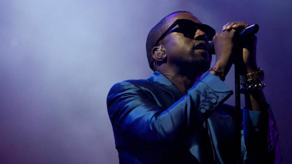 Stor musikk: Kanye West er ute med sitt femte album. (AP Photo/Nousha Salimi)