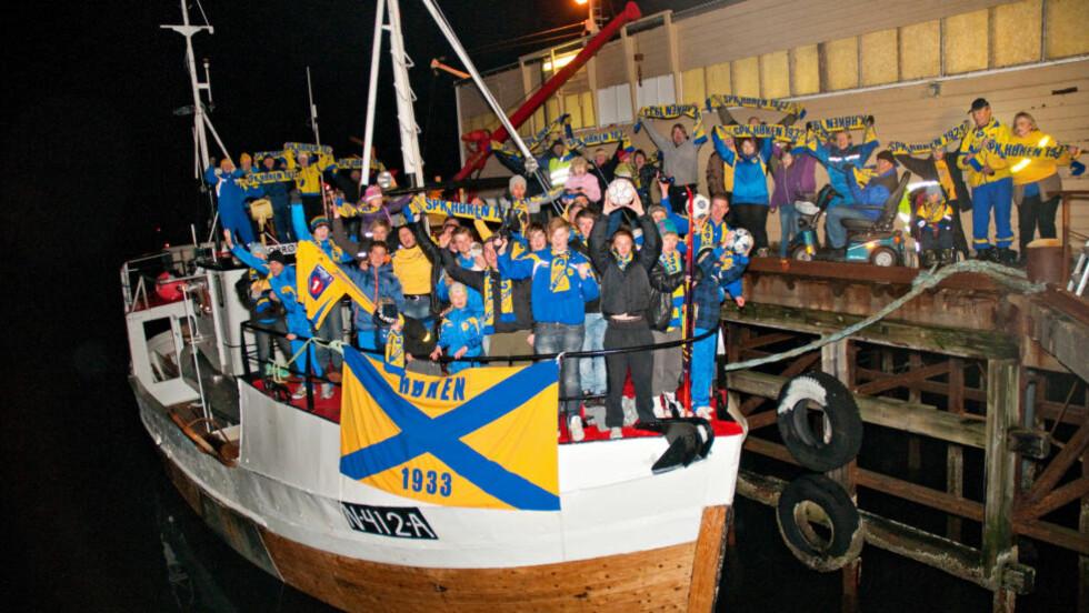 TIL TOPPS: Høken sanket stemmer med trålere i Klubben i mitt hjerte - og vant sin klasse. Foto: Tony Gulla Sivertsen/ www.tonygulla.com