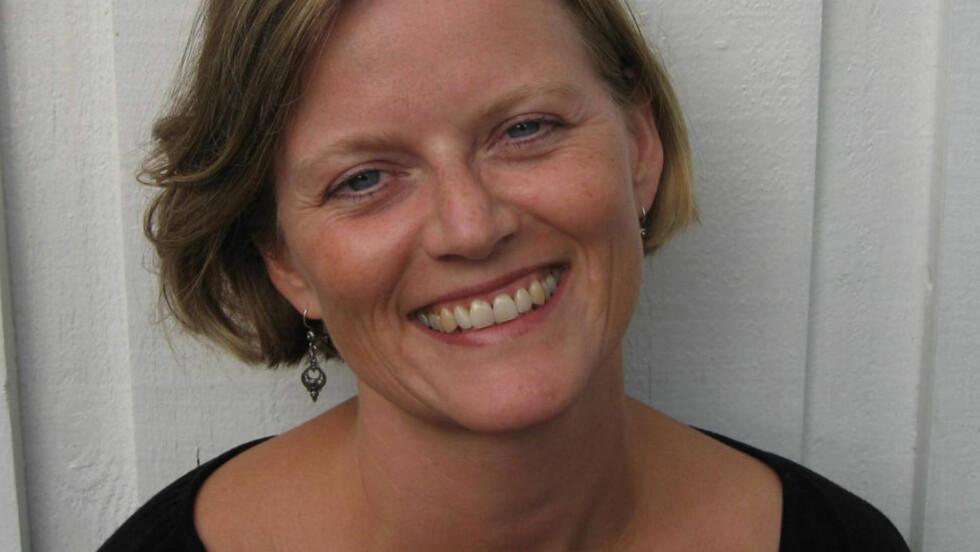 PRISNOMINERT: Karine Nyborg er nominert til Ungdommens Kritikerpris for debutromanen sin. Foto: ASCHEHOUG