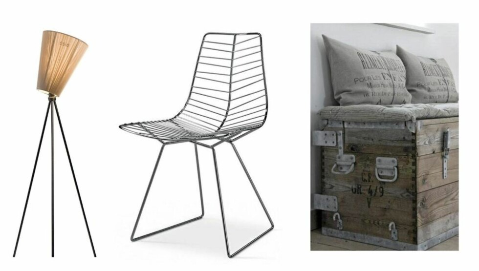 LITT AV HVERT: Norsk design, italiensk design eller fransk landstil? På boligredaksjonens utvalgte nettbutikker kan du velge og vrake. FOTO: Produsentbilde