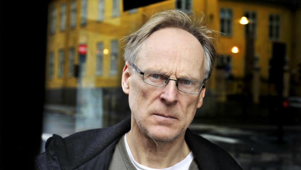 OPPRØRT: Biograf Espen Søbye måtte fullføre sin bok om overlege Johan Scharffenberg uten å ha fått innsyn i viktige journaler fra Gaustad Asyl. Foto: Hans Arne Vedlogg
