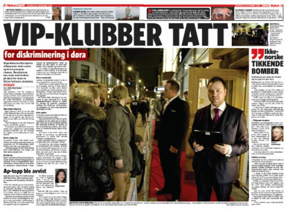 Faksimile: Dagbladet 22. oktober.