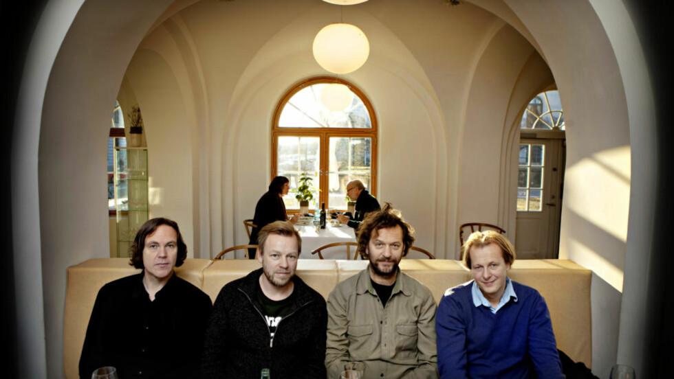 DOKUMENT: Samtidig som deLillos gir ut dokumentar, skal de også spille tre konserter til neste uke - med bare nytt materiale. Foto: Lars Eivind Bones / Dagbladet