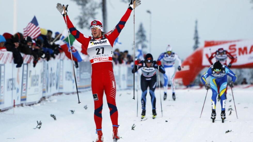 VINNER IGJEN:  Stadig nye triumfer for de norske sprintgutta. Det forteller om et sjeldent lag. FOTO: Håkon Mosvold Larsen / Scanpix