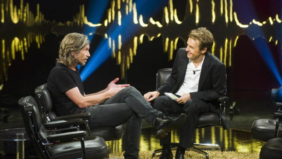 UBEHAGELIG: Karl Ove Knausgård forteller i et intervju med bladet Smug at han følte ubehag ved å opptre på «Skavlan» forrige måned. Foto: Håkon Eikesdal