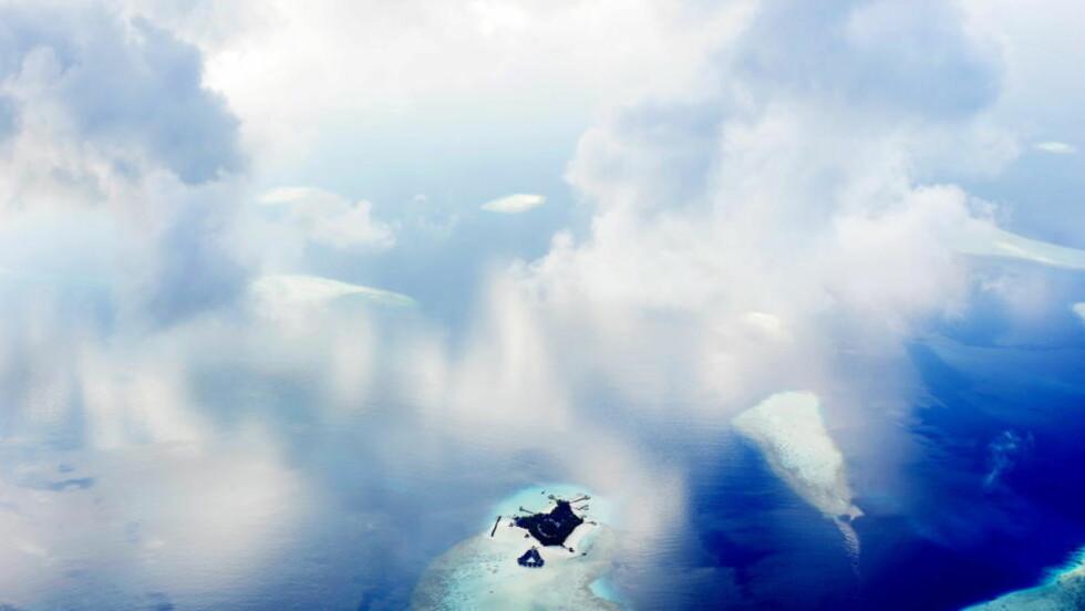 MALDIVENE: Maldivene er utsatt dersom den globale oppvarmingen får havet til å stige kraftig. Foto: Thomas Rasmus Skaug / Dagbladet