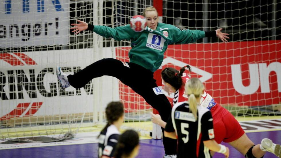 FORSTÅELSE: Katrine Lunde Haraldsen har forståelse for at kontringsspillerne ønsker beskyttelse, men hun liker likevel ikke den nye regelen. Foto: BJØRN LANGSEM