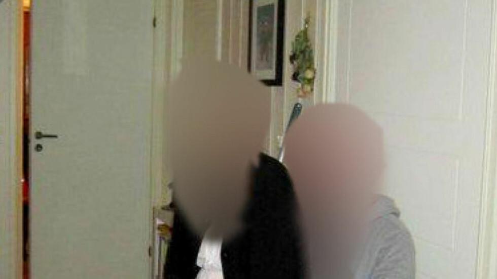 EKSPAR:  Den drepte kvinnen (29) og drapssiktede (28) sammen.  Foto: Privat.