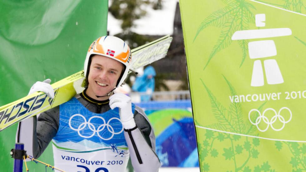 VANCOUVER, WHISTLER, CANADA 20100212. Mikko Kokslien etter kombinert hopp trening i liten bakke i Whistler Olympic Park under OL i Vancouver 2010.  Foto: Heiko Junge / Scanpix