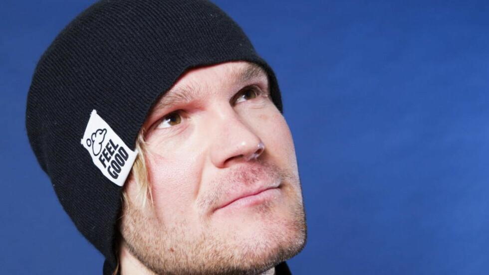 PÅ PALLEN: Øystein «Pølsa» Pettersen gikk inn til tredjeplass på verdenscupsprinten i fri teknikk i Düsseldorf lørdag. Foto: Håkon Mosvold Larsen / Scanpix