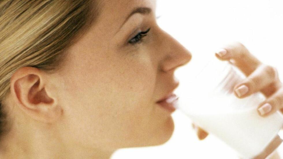 MELK: Det finnes mange gode grunner til å drikke melk. Illustrasjonsfoto: Colourbox.no