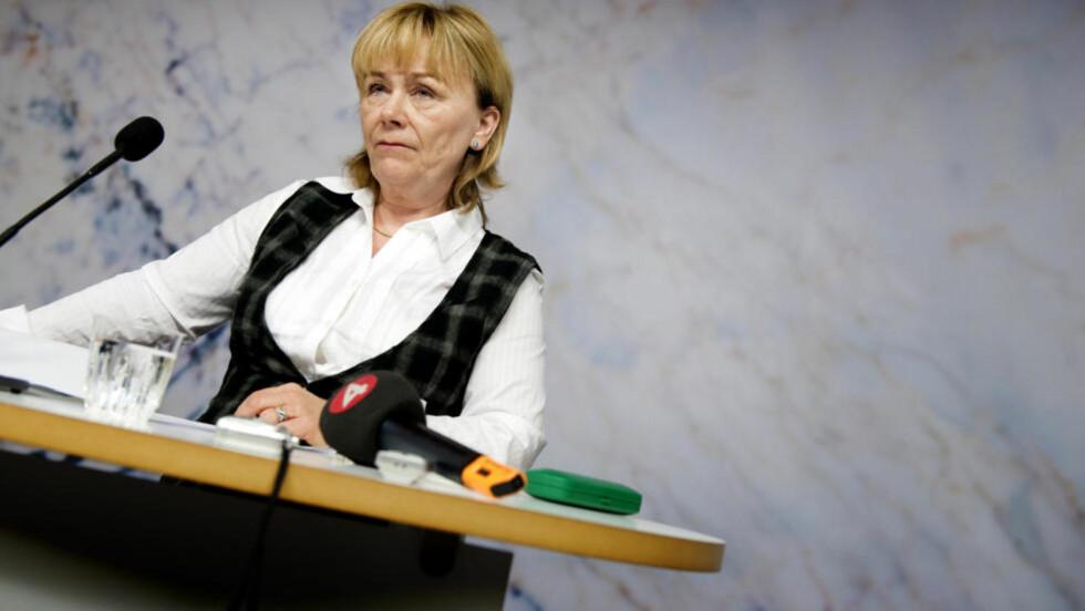 INGENTING Å SKJULE: Sveriges justisminister Beatrice Ask sier at hun ikke har noen hemmeligheter overfor den svenske riksdagen Foto: PONTUS LUNDAHL / SCANPIX / Scanpix