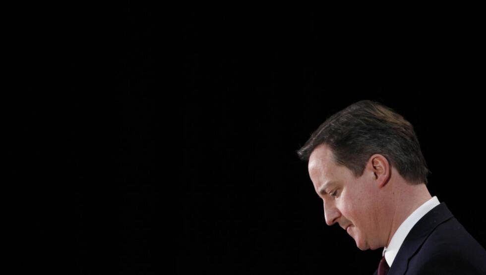 TILBAKETREKK: Storbritannias statsminister David Cameron åpner for at tilbaketrekningen fra Afghanistan kan starte alt neste år. Foto: REUTERS/Andrew Winning