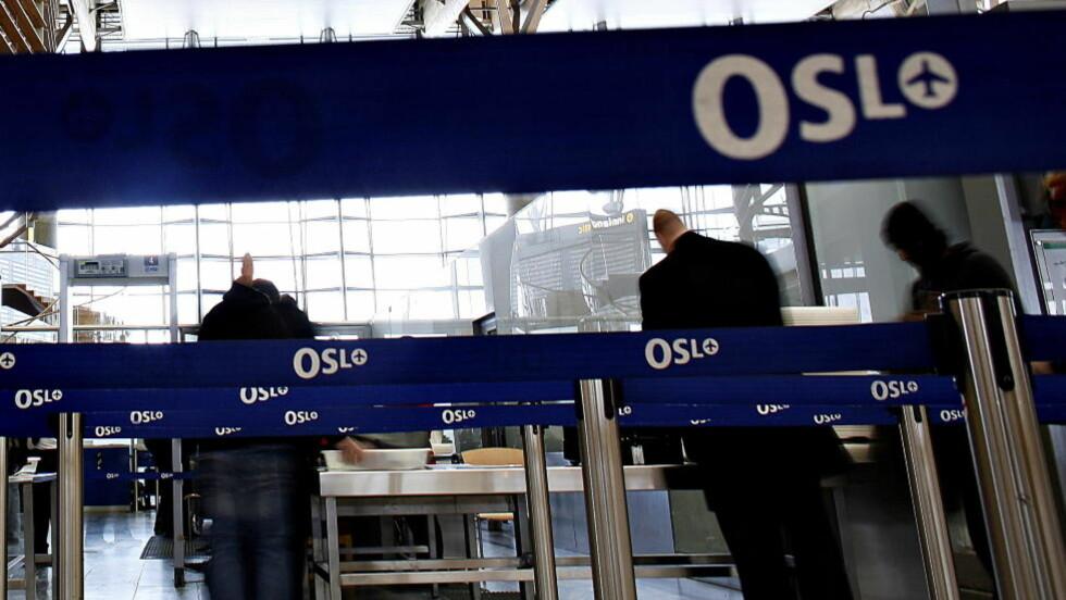 HASJ I MAGEN: 21-åringen ble gjenkjent av tollerene.  illustrasjonsfoto: OLE C. H. THOMASSEN/Dagbladet