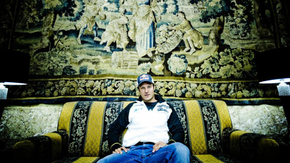 LITT SOFATID: Aksel Lund Svindal og de andre alpinistene fikk en trøblete hjemreise fra verdenscuprennene i Nord-Amerika, men klarte å redde litt fri likevel.  Foto: Thomas Rasmus Skaug  / Dagbladet