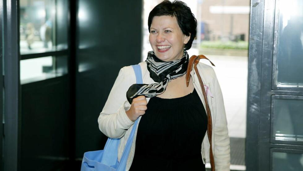 LITE STØTTE: Nestleder Helga Pedersen høster lite applaus for forslaget om å tvinge fram kommunesammenslåing .Foto: Jacques Hvistendahl/Dagbladet