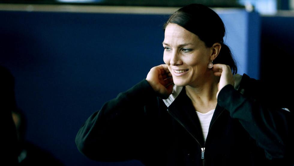 IKONET: Gro Hammerseng blir beskrevet som et ikon av treneren sin. Foto: BJØRN LANGSEM