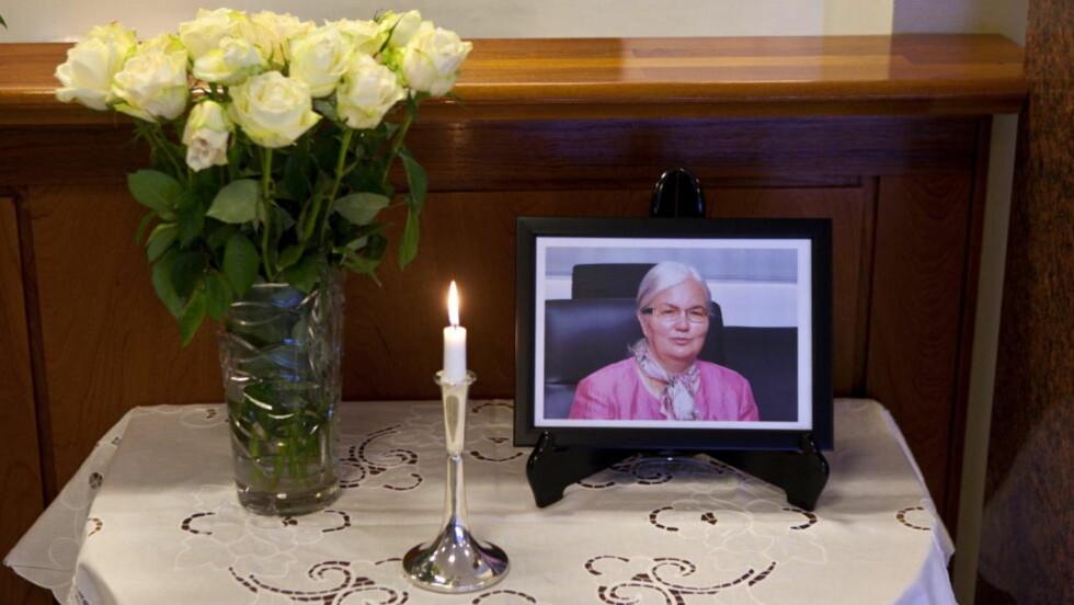 OBDUSERT:  Ellen Ugland skal ha dødd av hejrteinfarkt og medisinsk kvelning. FOTO: KJARTAN BJELLAND, FÆDRELANDSVENNEN.
