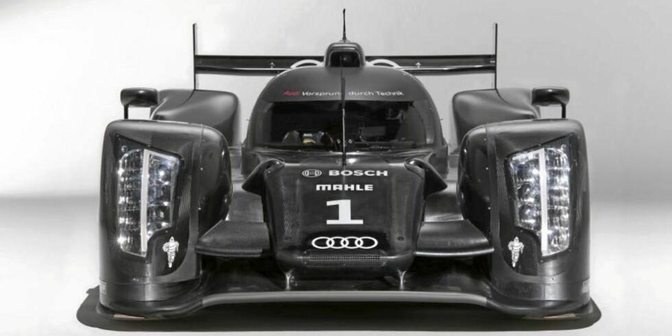 LUKKET KUPÉ: R18 har fått lukket kupe og ikke åpen som det var i R15-modellen. Foto: Audi