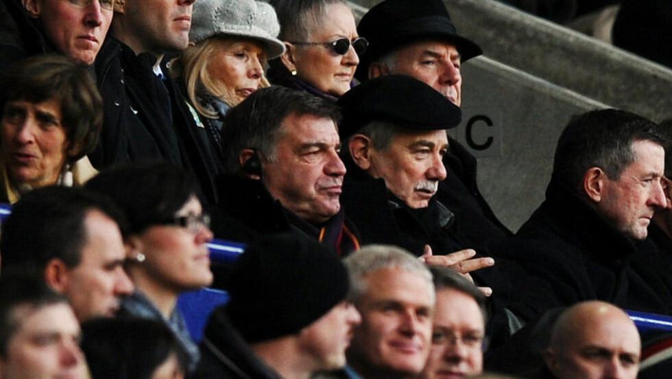 UTE: Sam Allardyce er ferdig som Blackburn-manager.Foto: SCANPIX/AFP/PAUL ELLIS
