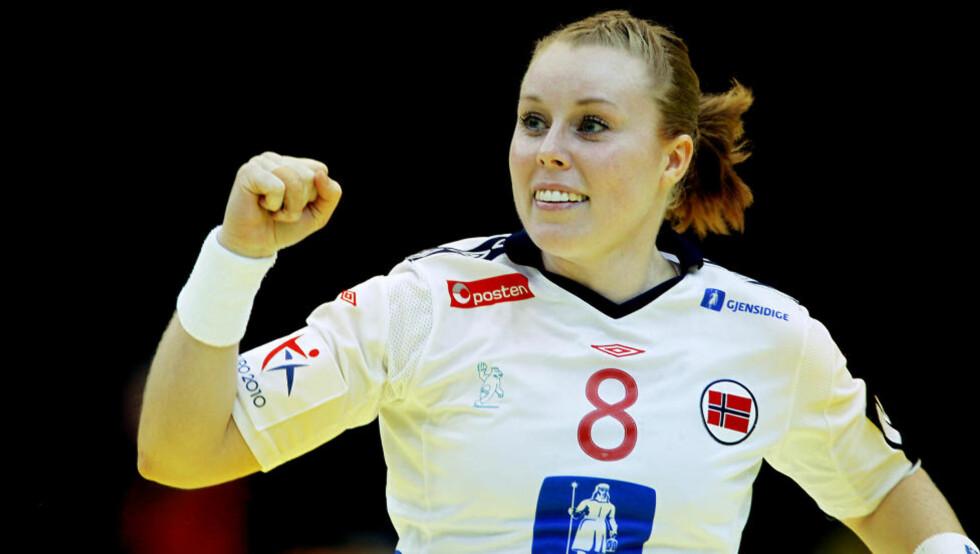 ALLTID DER: Karoline Dyhre Breivang er alltid med. Husker du når hun sist ikke spilte en landskamp?
