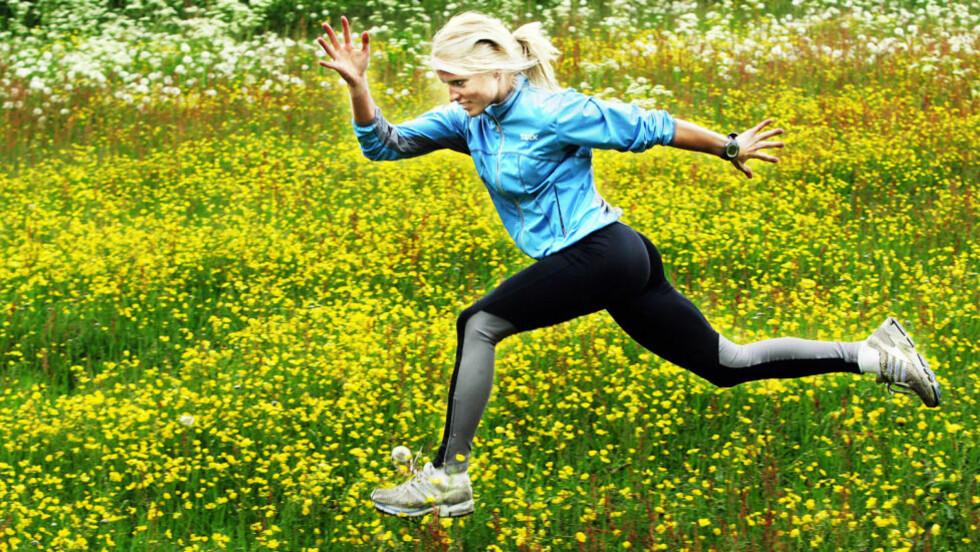 FLYR HØYT: Therese Johaug gjør suksess både i og utenfor sporet. Nettstedet Bleacher Report rangerer 22-åringen som den 9. mest sexy idrettsutøveren i verden.     Foto: Erik Berglund / Dagbladet