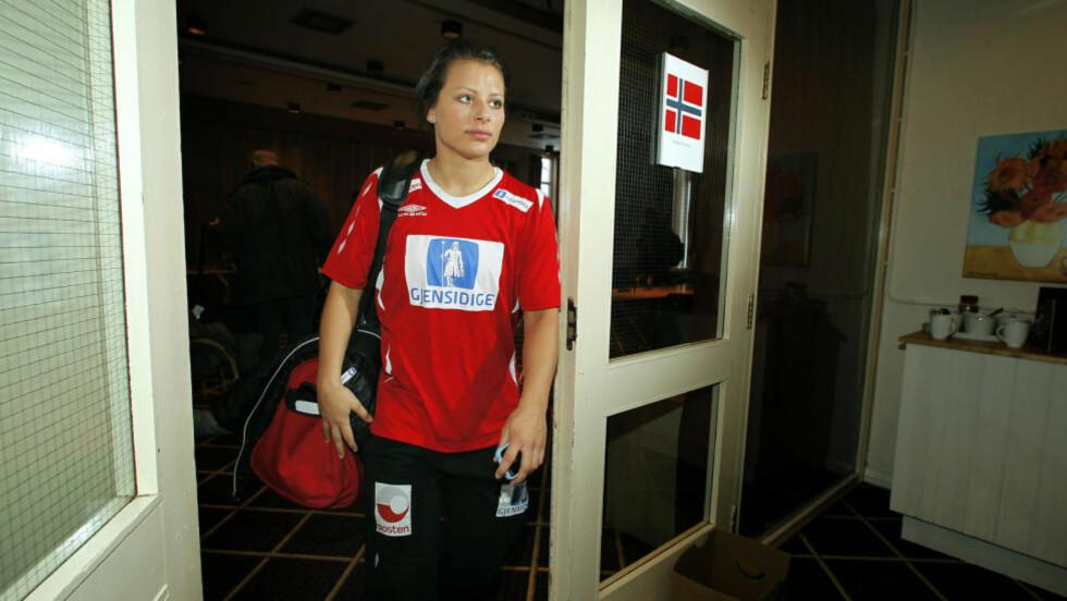 VINNERINSTINKT: Nora Mørk hadde tidlig et vinnerinstinkt som førte til at hun ble sint. Hun mener hun er blitt bedre, trenerne er litt usikre ...