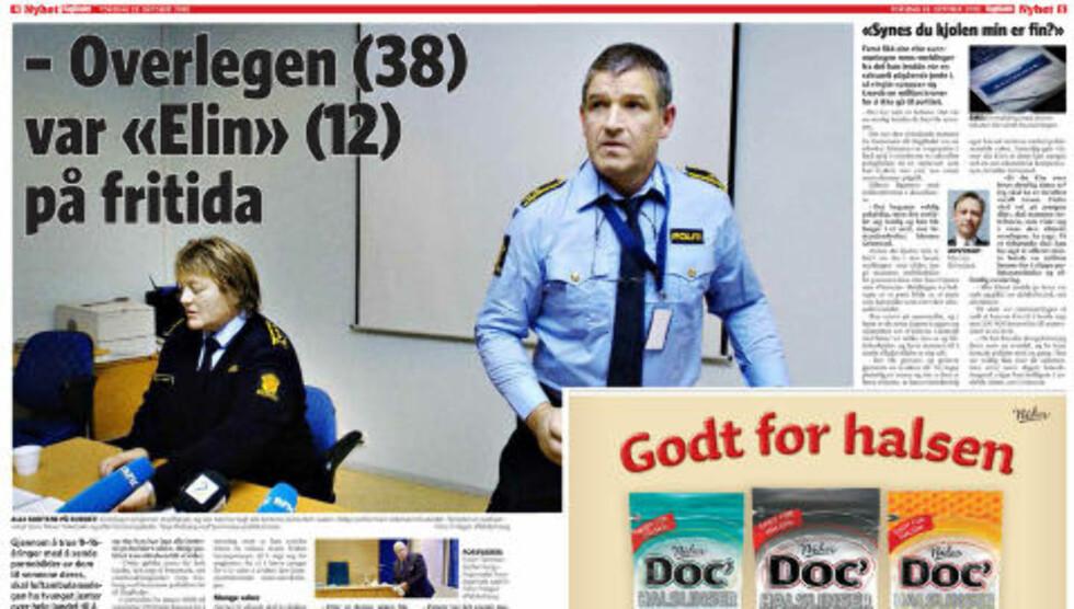 FAKSIMILE: Mann misten for overgrep mot hundrevis av barn og ungdommer. Mannen er lege overlege anestesilege og jobber blant annet i Norsk Luftambulanse.