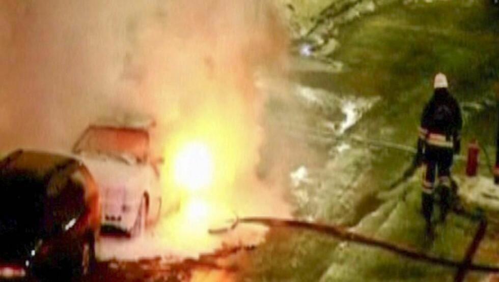 -FØRSTE AV FLERE: Ifølge Interpol kan terroraksjonen i Stockholm 11. desember ha vært det første i en rekke av angrep. Foto: REUTERS