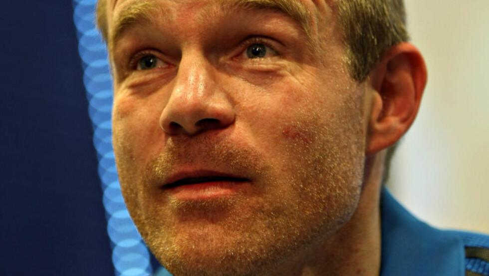 GOD DIALOG: Egil Østenstad sier Viking har en ryddig dialog med Fredrikstad, og tror på en løsning alle kan bli fornøyd med. Foto: Alf Ove Hansen, Scanpix
