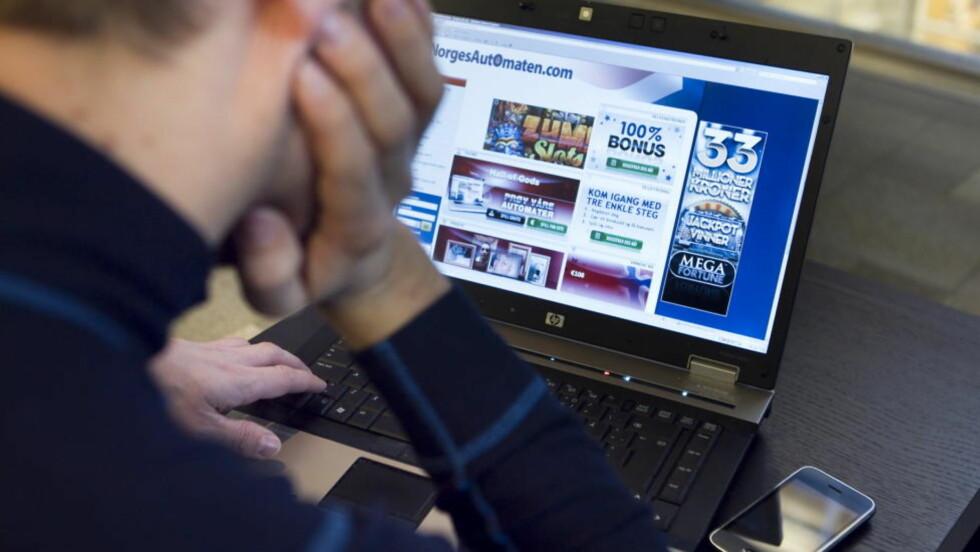 MANGE HAR DET TØFT: Mens man i 2008 mente det var 48.000 eller 1,3 prosent som hadde alvorlige spillproblemer, er tallet i år vokst til 81.000, eller 2,1 prosent. Foto: Scanpix