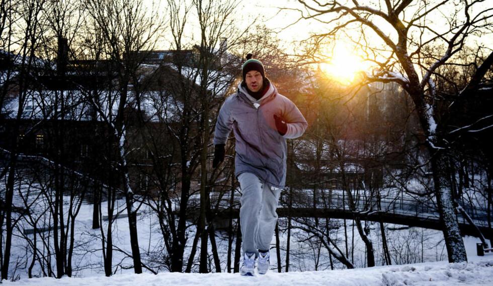 NØDVENDIG TRENING: Yngvar Andersen gir deg et treningsopplegg for å komme i gang. Foto: Øistein Norum Monsen